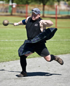Wade Quayle - Weight for Distance Throw - Heavy Events photo by Carmine Marinelli